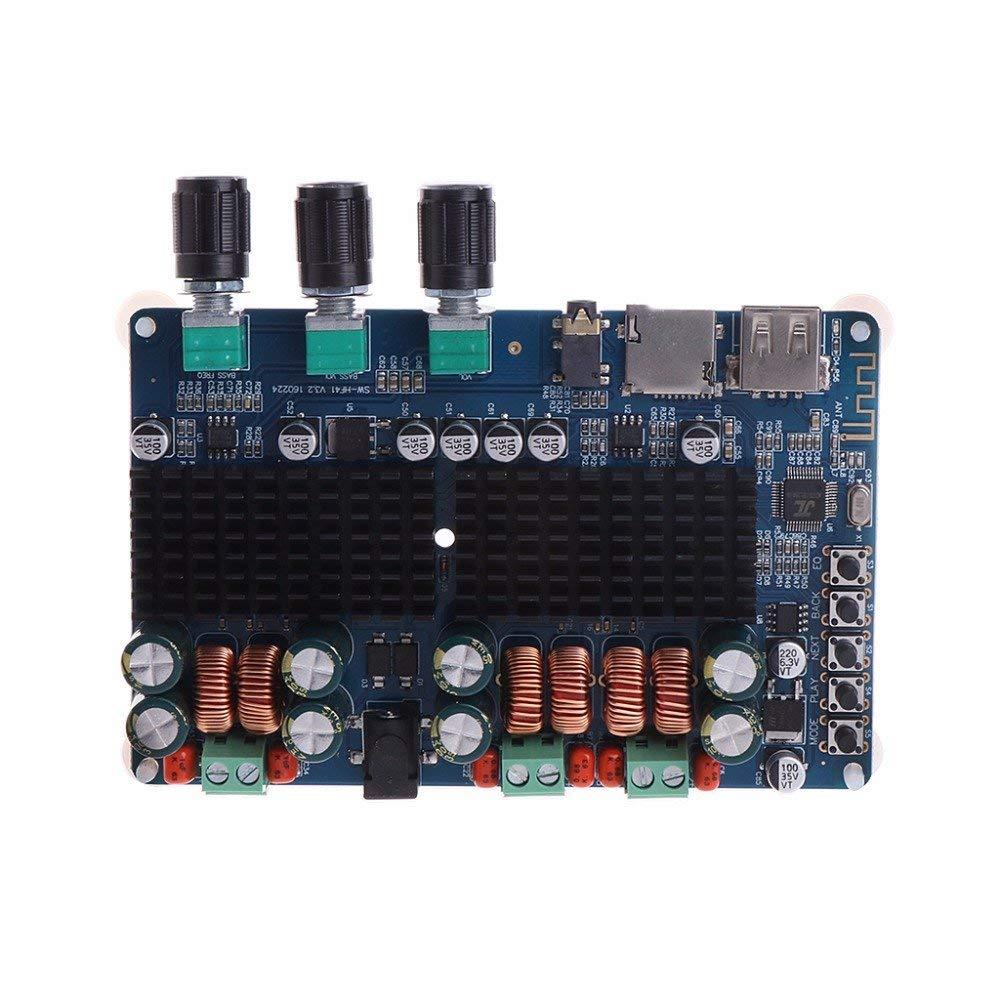POYING TPA3116 2x50W+100W 2.1 Channel Bluetooth Digital Subwoofer Power Amplifier Board