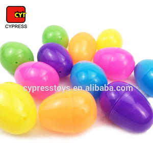 Party favor toy assortment colorful empty plastic eggs for christmas