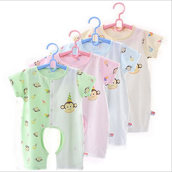 Buy Baby Romper Short Sleeve Not Carters Pink Cotton 100 Jersey