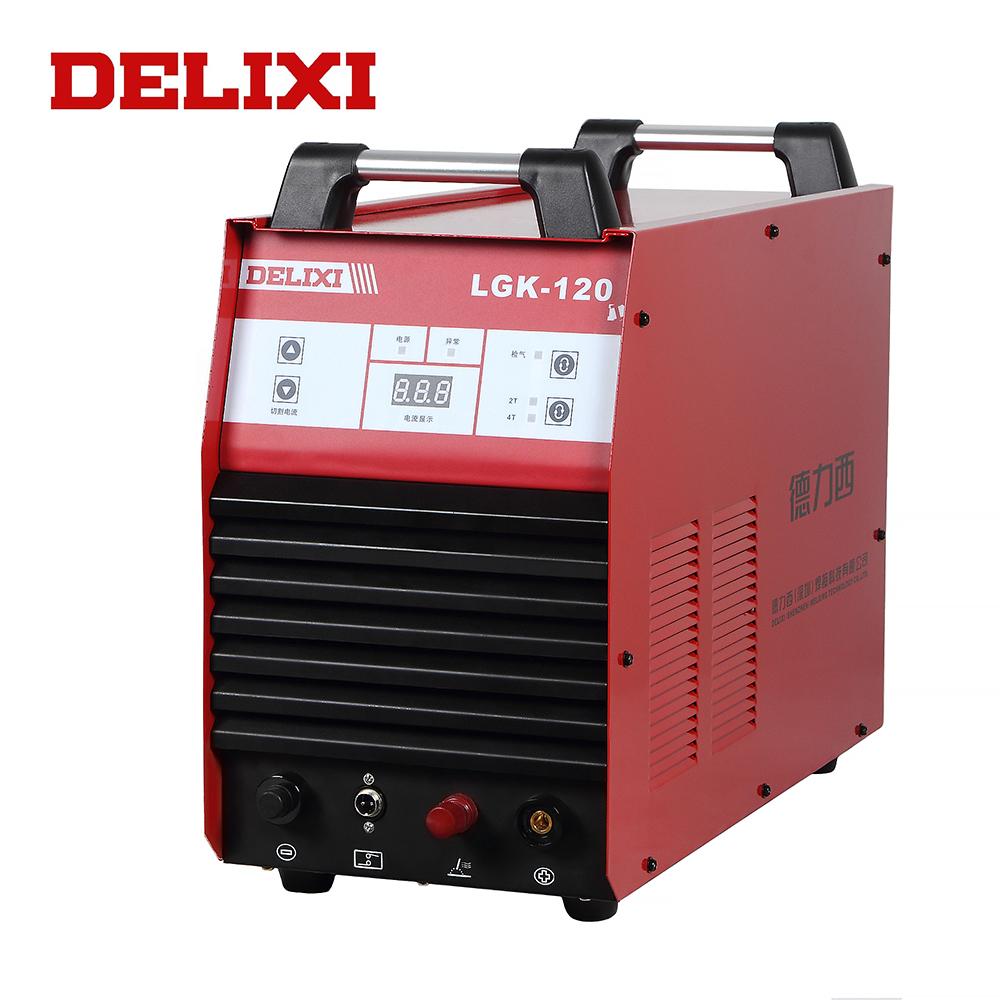 DELIXI LGK-120I (CẮT-120) IGBT Hiệu Suất Cao 380 V 3 Giai Đoạn 120A Miễn Phí Cắt Plasma Cut