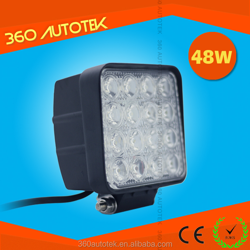 "4"" 48W Off Road LED Work Light volvo led truck light"