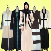 Islamic Clothing Muslim Dress Kaftan Kimono Abaya 2017,Abaya Models Dubai Kaftan