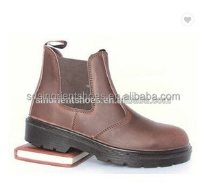 CE custom made OEM brand high quality good prices crazy horse leather steel toe rhino work boots for australia RS103