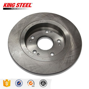 China Good Price Hydraulic Auto Part Car Front Brake Disc for Toyota Vios Corolla Hiace Hyundai Suzuki