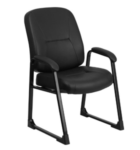 Cheap price leather visitor chair