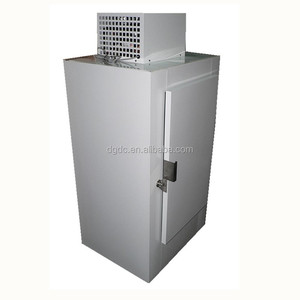 Outdoor Bagged Ice Storage Freezer Bin with Cold Wall System