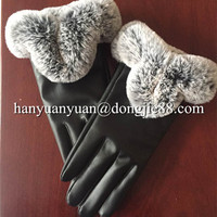 2016 cotton knitted golf winter motorcycle gloves women leather gloves