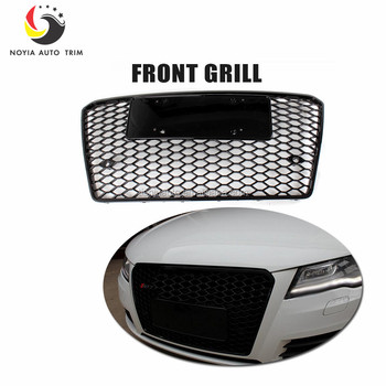 A7 Rs7 Racing Grills All Black Front Grille For Audi A7 Rs7