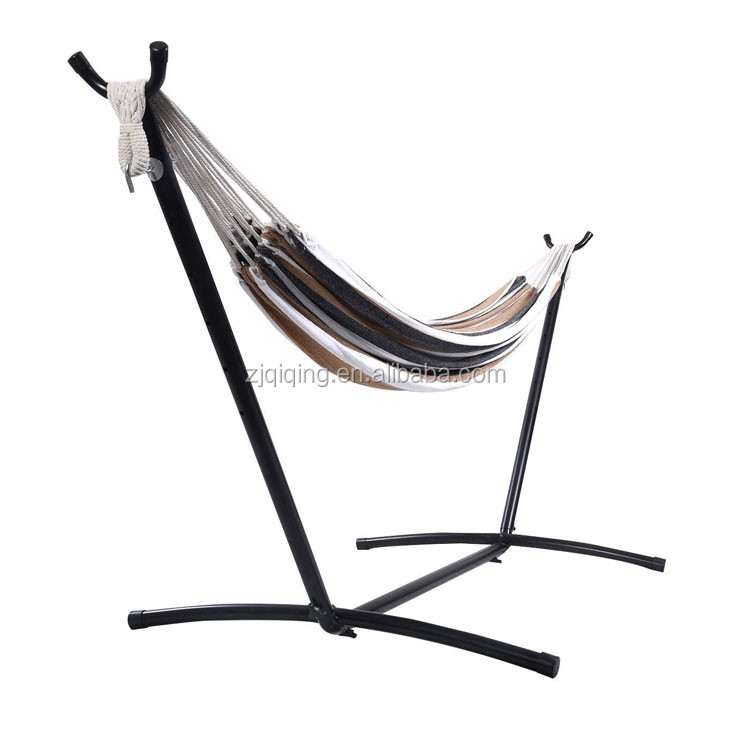 Custom Outdoor Folding Hammock With Canopy/ Dries Quickly Outdoor Hanging Bed/ Parachute Fabric Hammock DF-21-8