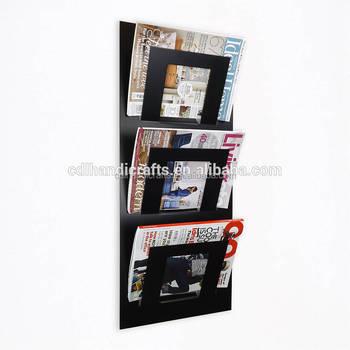 3 Pockets Wall Magazine Rack