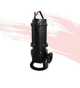 Motor 230v 50hz 3hp Submersible sewage cutter Water Pump Prices For Waste Water Treatment