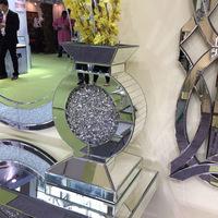 New design handmade flower vase with diamond insert