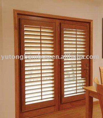 De bamb persianas ventanas persianas cortinas y for Ventanas con persianas incorporadas