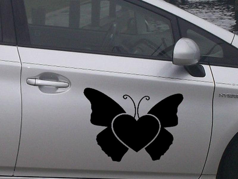 achetez en gros papillon autocollant de voiture en ligne des grossistes papillon autocollant. Black Bedroom Furniture Sets. Home Design Ideas