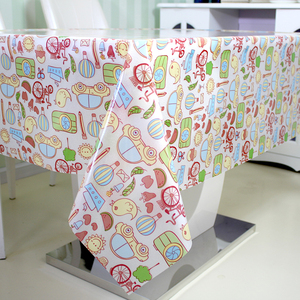 Eco-Friendly PVC New Printing Design Heat Resistant Table Cloth