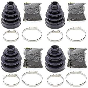Complete Rear Inner & Outer CV Boot Repair Kit for Yamaha YFM660 Grizzly 2002 All Balls