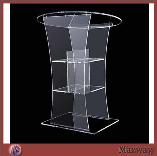 Church Acrylic Podium Hot Sell Clear Acrylic Lectern Clear