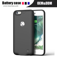 2500mah backup battery phone charger case cover for iphone 6