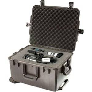 "Pelican Im2750 Storm Case . Internal Dimensions: 22"" Width X 12.70"" Depth X 17"" Height . 20.57 Gal . External Dimensions: 24.6"" Width X 14.4"" Depth X 19.7"" Height . Hpx Resin . Black . Military ""Product Type: Supplies/Shipping & Storage Boxes/Tanks"""