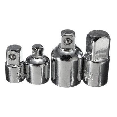 TOOGOO(R) 4 in 1 1/2x3/8 3/8x1/4 3/8x1/2 1/4x3/8 Socket Reducers Adaptors Tool Set Garage Mechanics Engineers DIY Gadgets