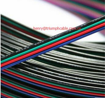 22 Awg 3 Pin Rgbw 4pin Rgb Schwarz Kabel Draht 10/20/50/100 Mt 22 ...