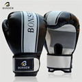 BONSEM Brand Kick Boxing Man Women Mma Gloves PU Leather Guantes Muay Thai karate Taekwondo Training