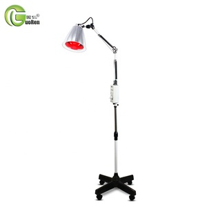Low Frequency Therapy Device Vertical Shortwave Infrared Paint Curing Medical TDP Lamp Heat Therapy with Floor Standing Style