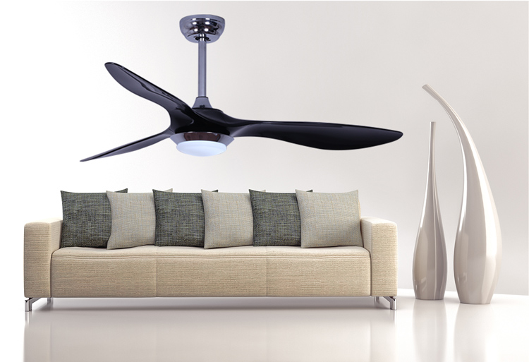 52 Inches modern decorative led light ceiling fan