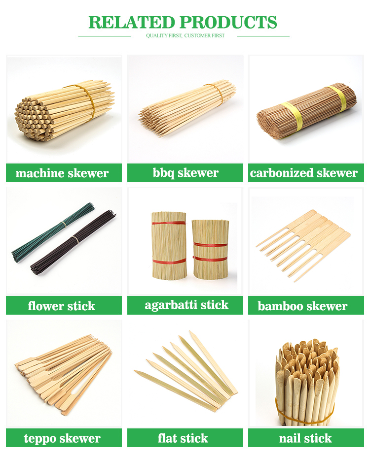 Wholesale FDA Approved Disposable Barbecue Tool BBQ Bamboo Skewer , Best Quality Marshmallow Roasting Sticks