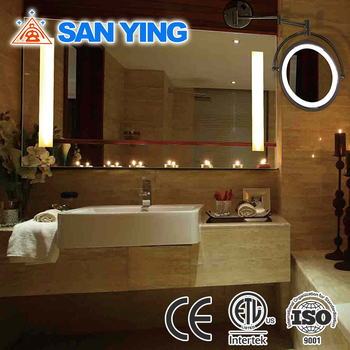 Cetl Ce Rohs Ip44 Frameless Led Bath Mirror Backlit Vanity Wall ...