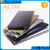 customer compensation gifts metal shell LED light 10000mah slim power bank for HTC