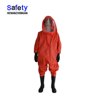 Airtight type(heavy) chemical protective clothing