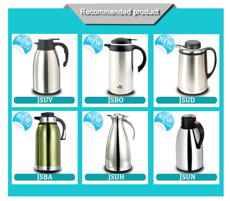 Double Wall Stainless Steel Insulated Thermos Vacuum Jug Coffee Pot Flask