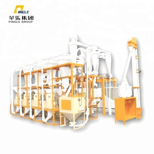 Complete sets strong home wheat flour milling machine