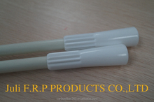roman curtain fiberglass curtain rod, View flexible curtain white solid 9mm 9.5mm rod