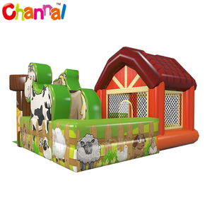 Farm Inflatable Combo Bouncer Inflatable Bouncing Castle