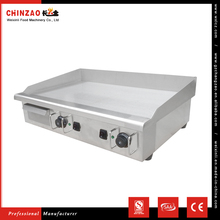 CHINZAO CE Standard Commercial Table Top Electric Griddle Cooker Dosa Griddle With Iron Plate