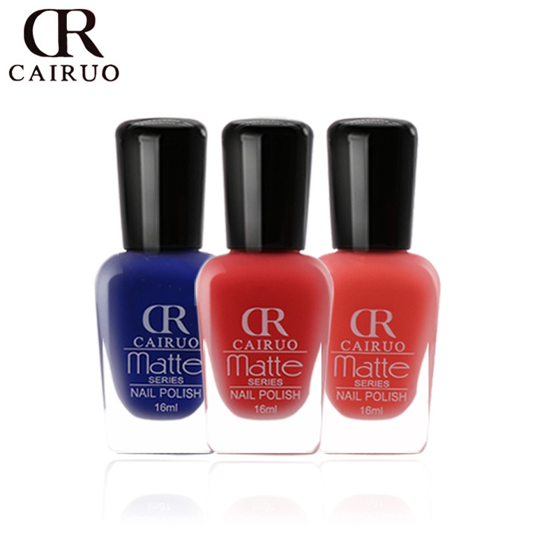 Wholesale Quick Dry Factory Matte Nail Polish Mirror Long Lasting