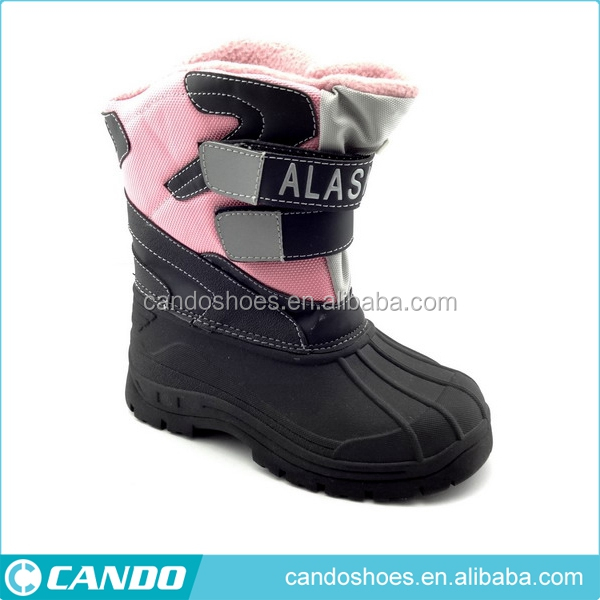 cheap half high heel ankle rain children's boots for kids