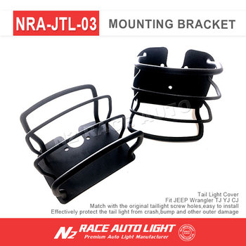 Tail Light Covers Rear Lamp Covers For Jeep Led Tail Light
