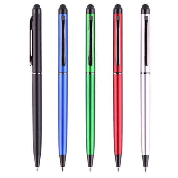 Small MOQ Unique Desiged Aluminium Ball Pen With Clearance Tube Pen Set