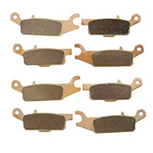 2008-2014 Yamaha Grizzly 700 YFM700 Sintered HH Front & Rear Brake Pads