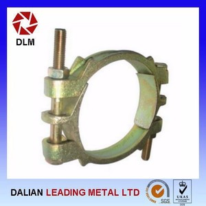 Double Bolt Hose Clamps Scaffolding Construction Casting Suppliers