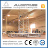 Four-way cheap light galvanized scaffolding leg in myanmar