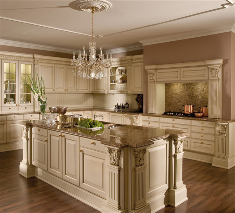 China Kitchen Cabinet Factory Classic Kitchen Cabinet