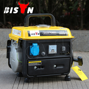 BISON(China) Factory Price 650w Air-cooled 1E45F Engine Mini Mobile Power Portable Gasoline 0.5kva Generator for Home Use