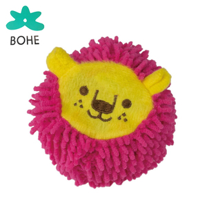 LUVP+K customized hot selling cheap stuffed ball strong durable dog toys