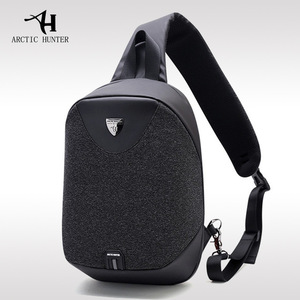 2018 New Arctic Hunter Multi functional waterproof leisure Anti thief satchel crossbody bag sling bag sports shoulder Chest bag
