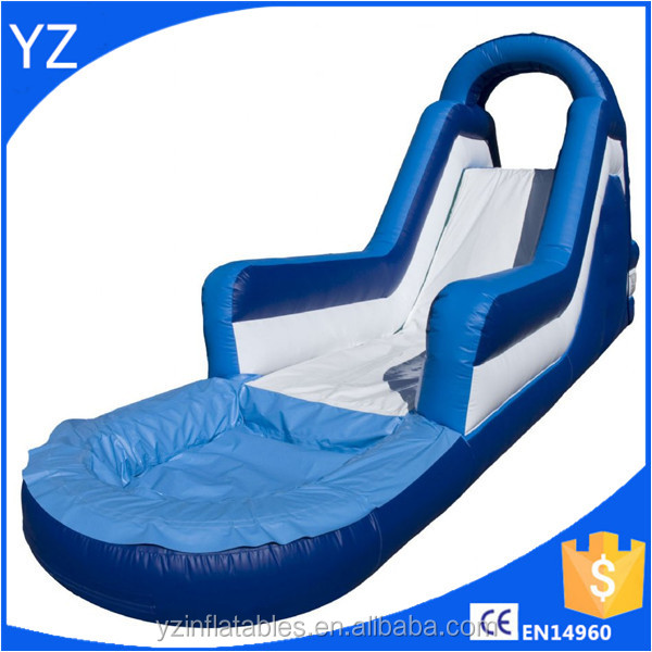Top sale inflatable water pool slide inflatable jumping slide
