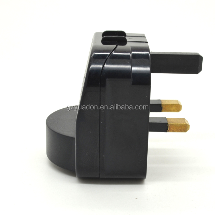 Electrical Plug Adapter receptacle eu to uk european plug adapter socket insert plug ac/dc power adapter